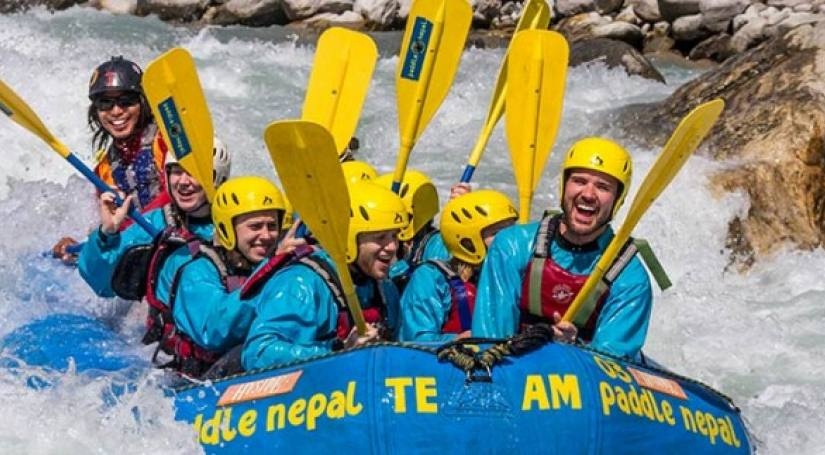 Upper Seti River Rafting