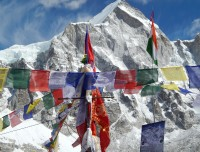 Everest View From Base Camp